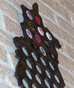 champagne capsule verzamelaar close-up
