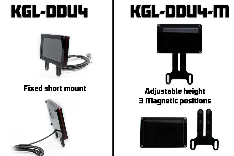 comparison KGL-DDU4 vs KGL-DDU4-M